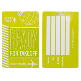 Travelon Personal Expression Luggage Tag Flight Take Off