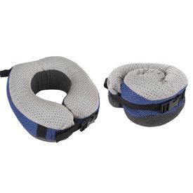 Travelon Cooling Gel Memory Foam Pillow Cobalt/Gray