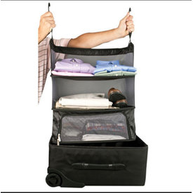 Travelon Deluxe Packable Shelves Black