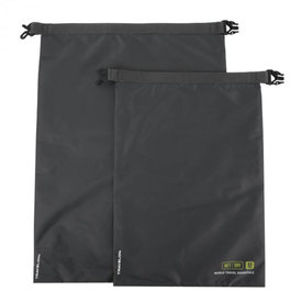 Travelon World Travel Essentials Set of 2 Dry Bags Graphite