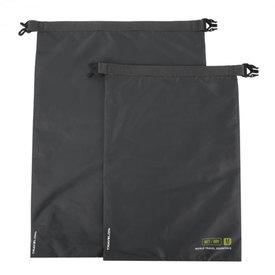 Travelon World Travel Essentials Set of 2 Dry Bags Graphite
