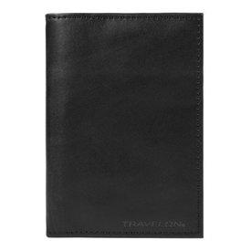 Travelon RFID Blocking Leather Passport Case Black