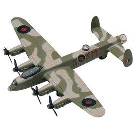 MotorMax Avro Lancaster Bomber RAF KM-B 1:100 Diecast Toy