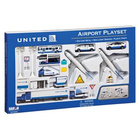 Daron WWT Playset United 2010 Livery Large (24 pieces)