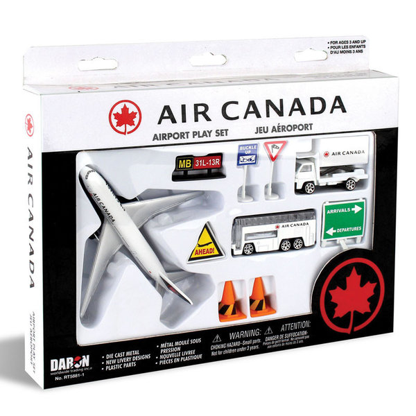 Daron WWT Air Canada Airport Playset New Livery 2017
