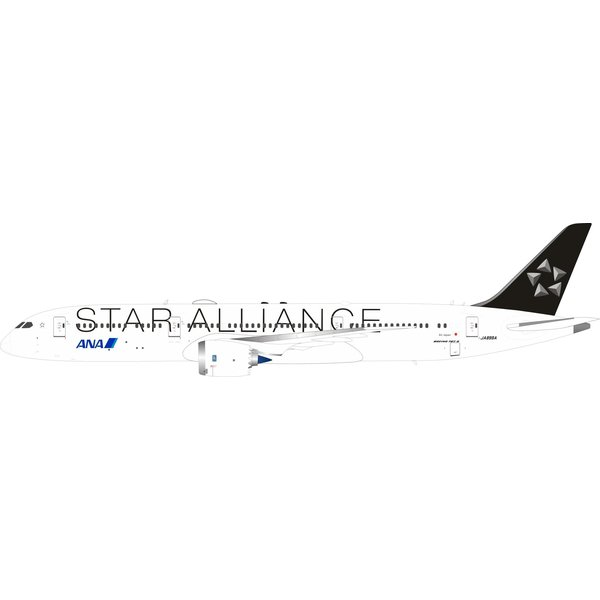 InFlight B787-9 Dreamliner ANA Star Alliance JA899A 1:200