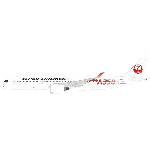 A350-900 JAL Japan Airlines A350 Red JA01XJ 1:200 stand