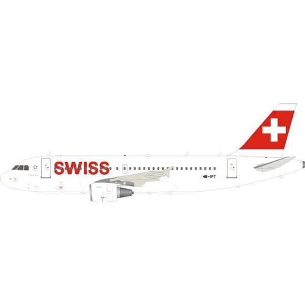 InFlight A319 Swiss International HB-IPT 1:200 with Stand