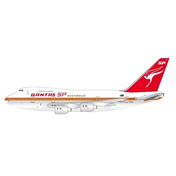InFlight B747SP QANTAS SP Australia VH-EAA 1:200 polished