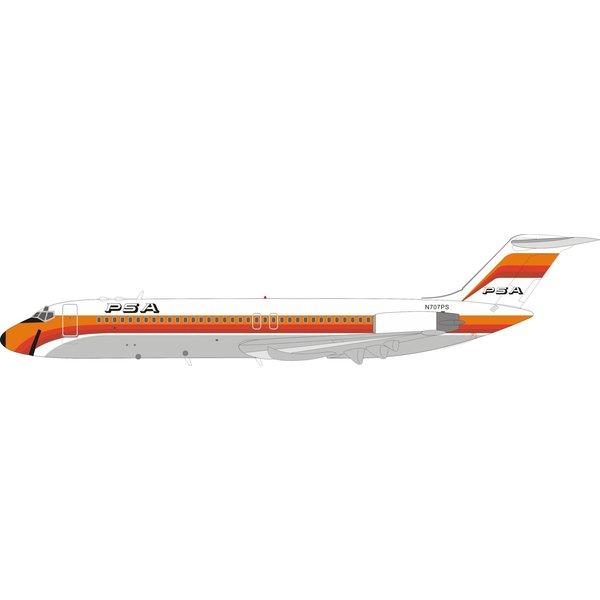 InFlight DC9-32 PSA Pacific Southwest N707PS 1:200