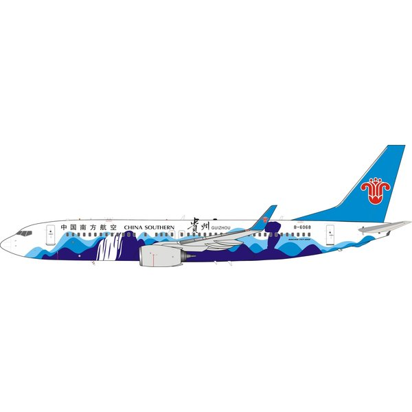 InFlight B737-800W China Southern Guizhou B-6068 1:200