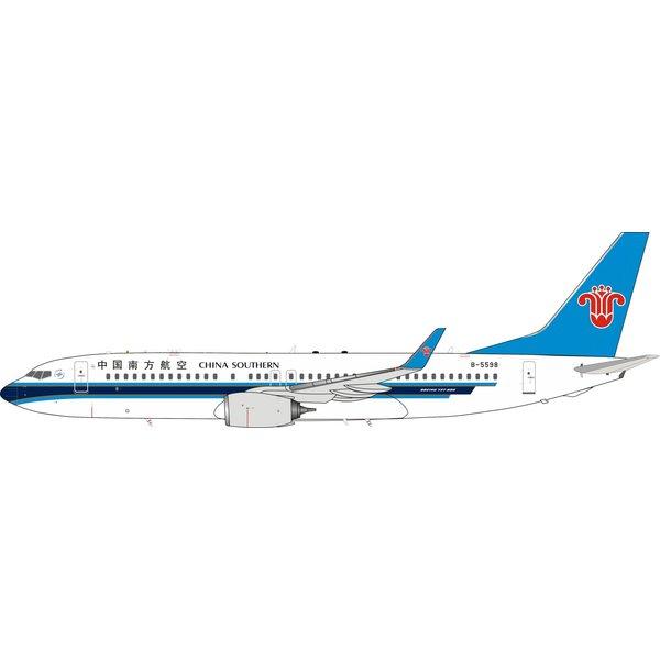 InFlight B737-800W China Southern B-5598 1:200