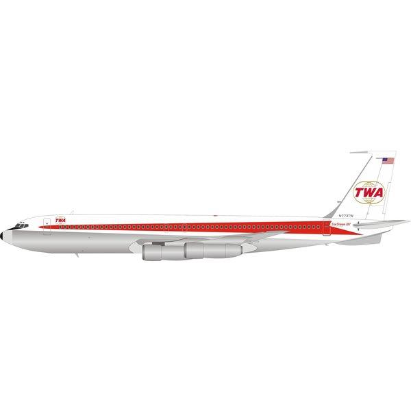 InFlight B707-300 TWA Starstream livery N773TW 1:200 Pol.