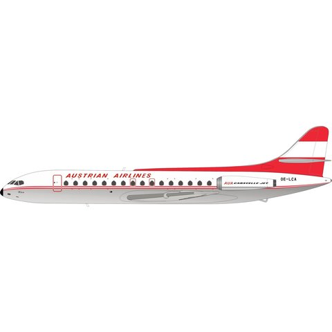 SE210 Caravelle VI-R Austrian OE-LCA 1:200 polished
