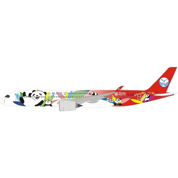 InFlight A350-900 Sichuan Panda Route B-306N 1:200