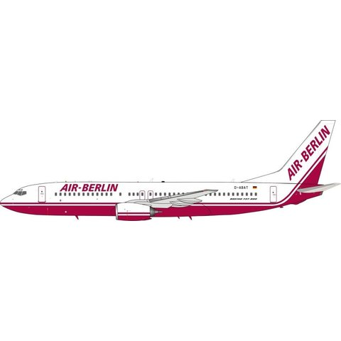 737-800 Air Berlin Old Livery D-ABAT 1:200