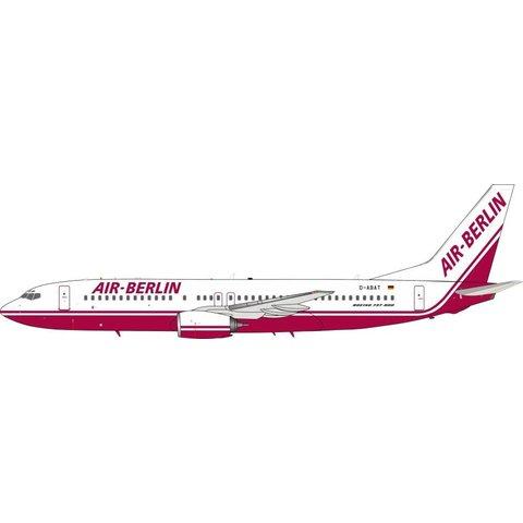 B737-800 Air Berlin Old Livery D-ABAT 1:200