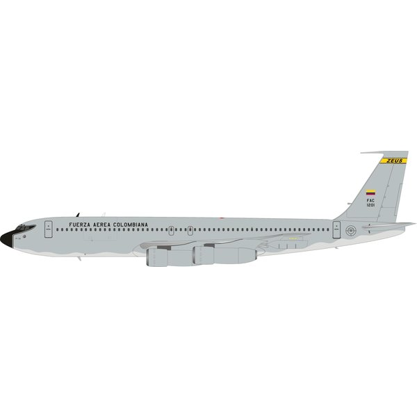 InFlight B707-300 Colombian Air Force FAC1201 ZEUS 1:200