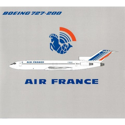B727-200 Air France F-BOJE 1:200 with stand