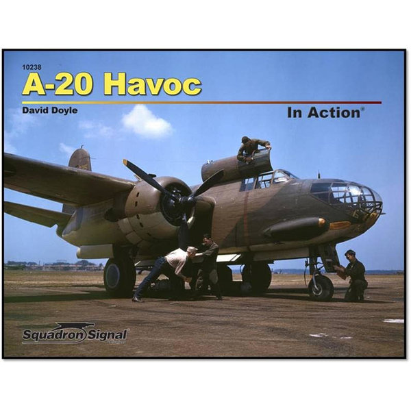 Squadron A20 Havoc: In Action #238 Softcover