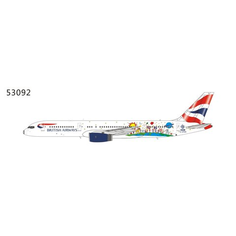 B757-200 British Airways Blue Peter G-CPEM 1:400