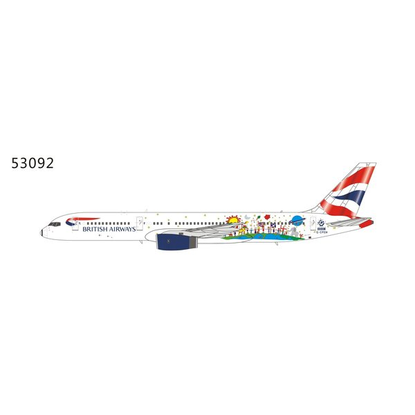 NG Models B757-200 British Airways Blue Peter G-CPEM 1:400