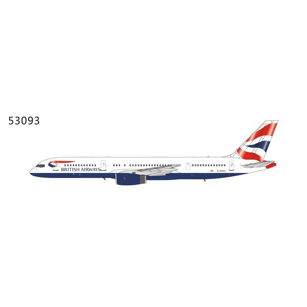 NG Models B757-200 British Airways Union Jack Tail G-CPES 1:400