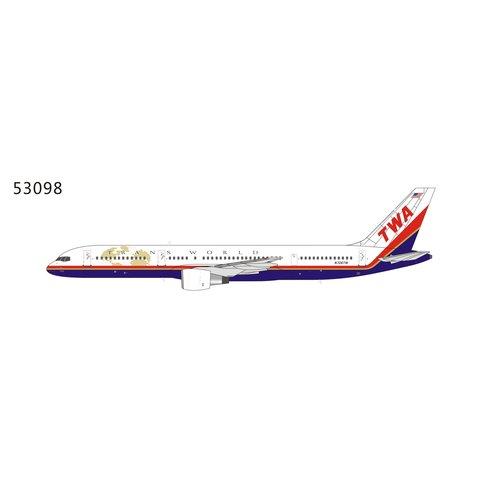 B757-200 TWA Trans World final c/s N706TW 1:400