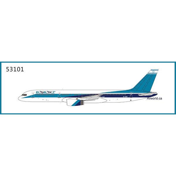 NG Models B757-200 ElAl delivery 4X-EBT 1:400