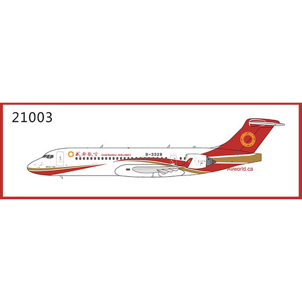 NG Models ARJ21-700 Chengdu Airlines B-3328 1:400