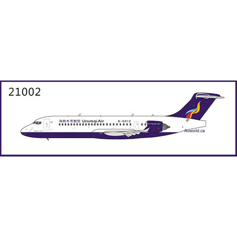 ARJ21-700 Urumqi Air B-001Z 1:400