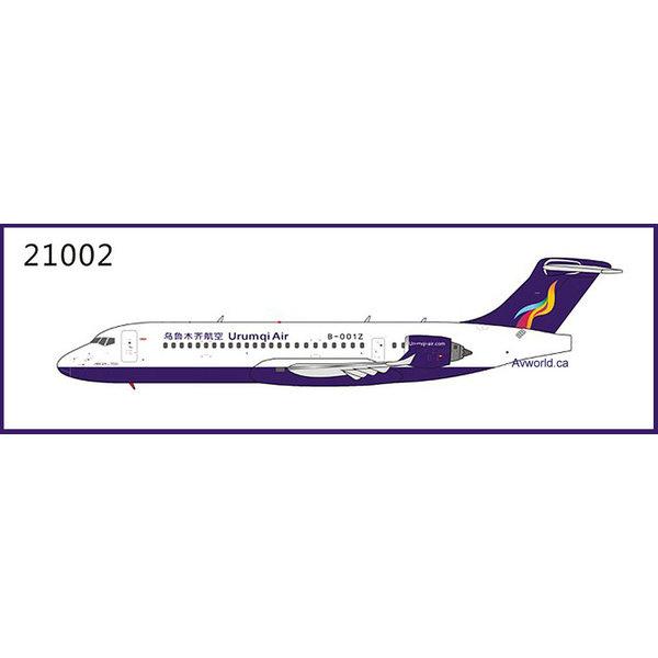NG Models ARJ21-700 Urumqi Air B-001Z 1:400