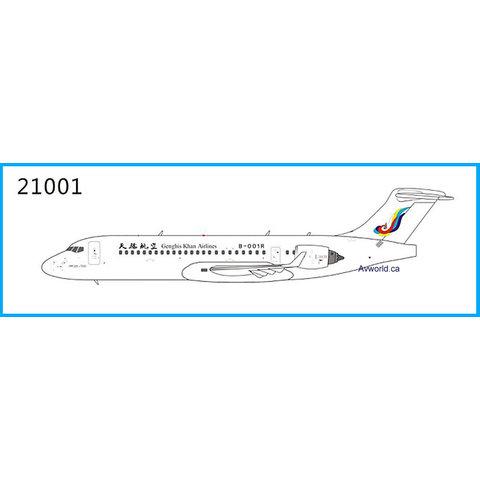 ARJ21-700 Ghengis Khan Airlines B-001R 1:400