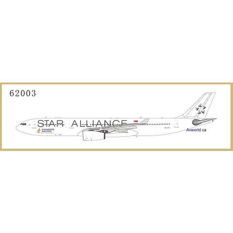 A330-300 Singapore Star Alliance wt 9V-STU 1:400
