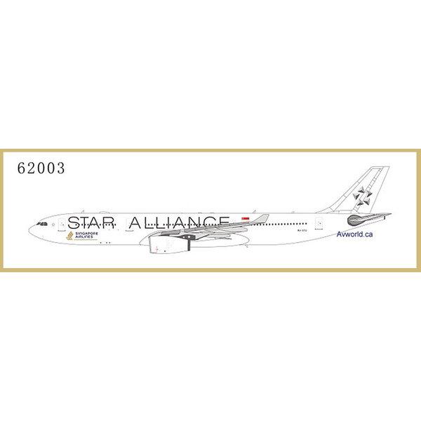 NG Models A330-300 Singapore Star Alliance wt 9V-STU 1:400
