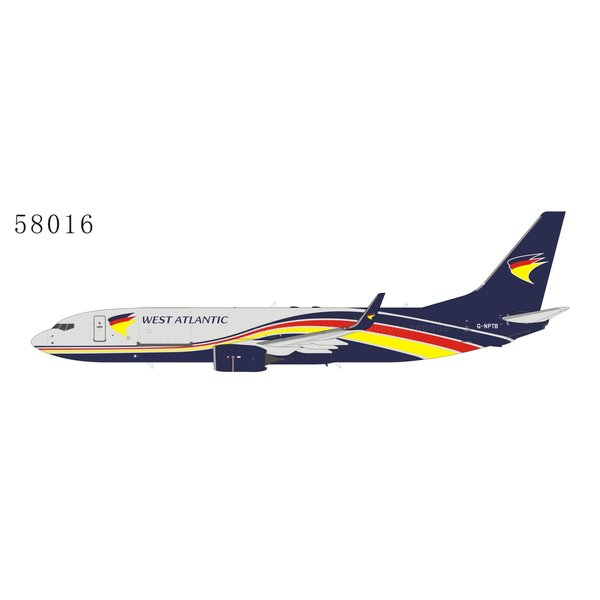 NG Models B737-800BCF West Atlantic Cargo G-NPTB 1:400