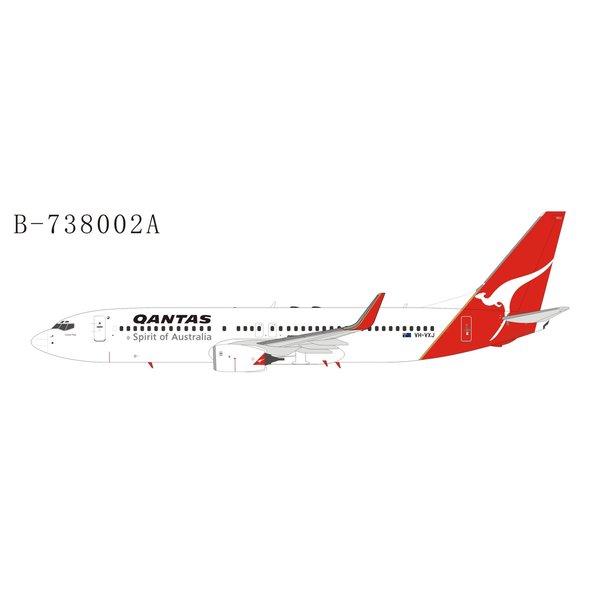 Extra Models B737-800W QANTAS 1990s livery VH-VXJ 1:400