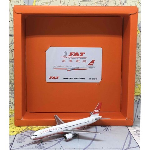 B757-200 FAT Far Eastern Air Transport B-27017 1:400