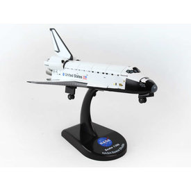 Postage Stamp Models Space Shuttle Discovery NASA 1:300 with stand