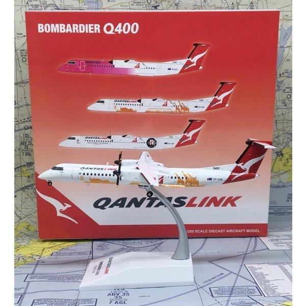 JC Wings Dash8 Q400 QANTAS Taronga Zoo VH-QOW 1:200