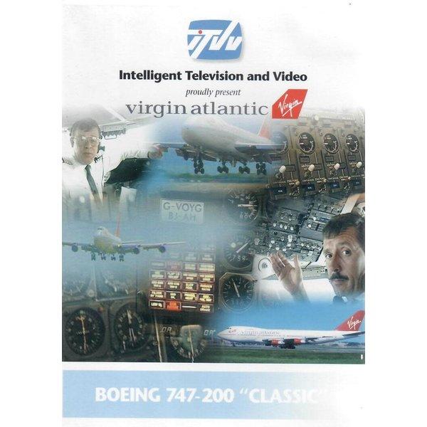 DVD B747-200 Virgin Atlantic++SALE++