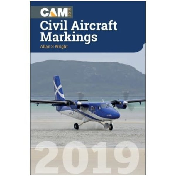 Crecy Publishing Civil Aircraft Markings CAM 2019 SC++NSI++SO ONLY++