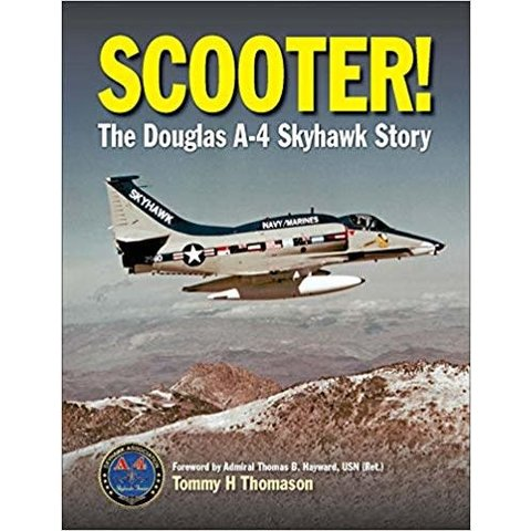 Scooter: Douglas A4 Skyhawk Story HC Revised
