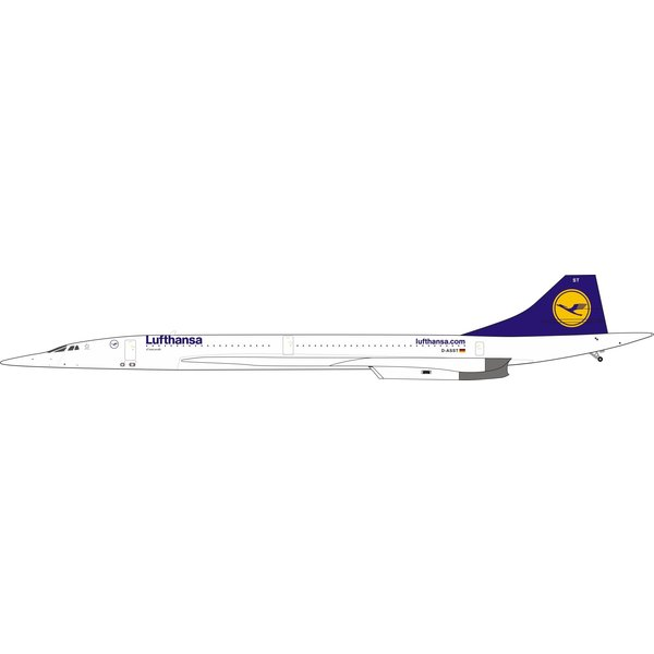 InFlight Concorde Lufthansa D-ASST 1:200 (2nd) With Stand