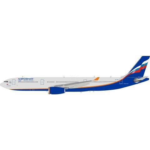 A330-300 Aeroflot 2003 livery VP-BDE 1:200 stand
