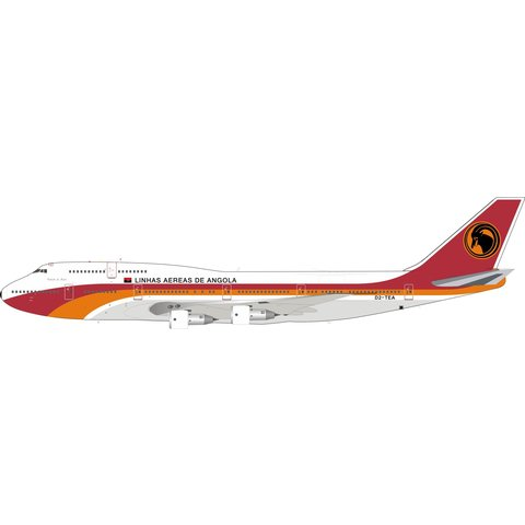 B747-300 TAAG Angola Airlines D2-TEA 1:200
