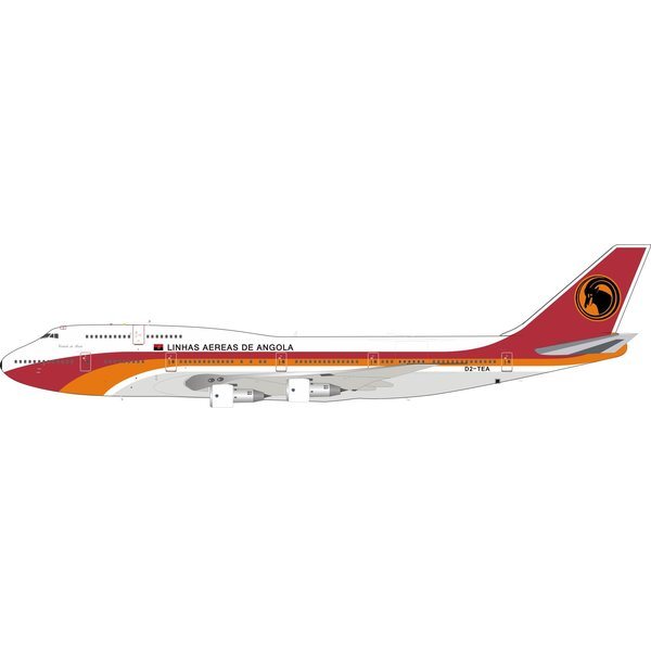 InFlight B747-300 TAAG Angola Airlines D2-TEA 1:200