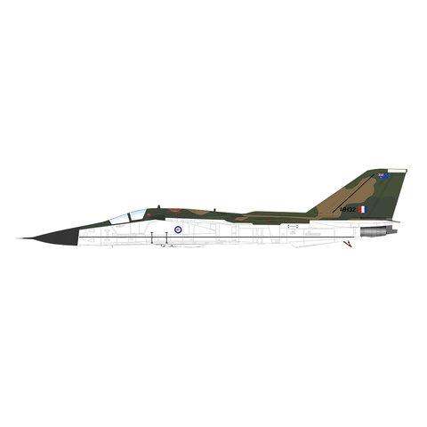 F111C Aardvark RAAF white bottom A8-132 1:72