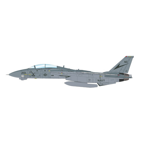 F14B Tomcat VF24 Fighting Renegades NG-201 1:72