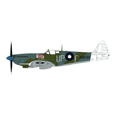 Spitfire VIII 79 Sqn RAAF UP-F A58-517 Smithell 1:48
